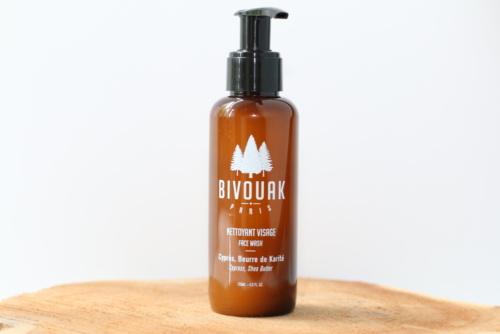 Nettoyant naturel, vegan et cruetly-free pour le visage Bivouak