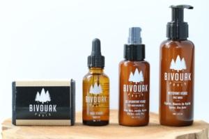 Produits naturels, vegan et cruelty-free pour hommes Bivouak