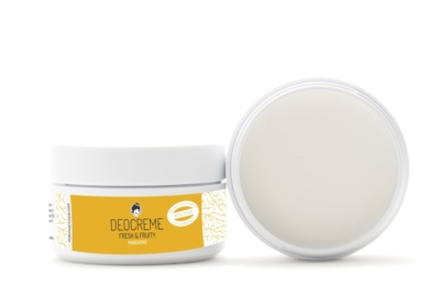 Déodorant crème vegan, bio, naturel et cruelty-free Fresh and Fruity de Pony Hütchen