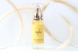 Huile d'argan pure naturelle, bio, vegan et cruelty-free Ayda