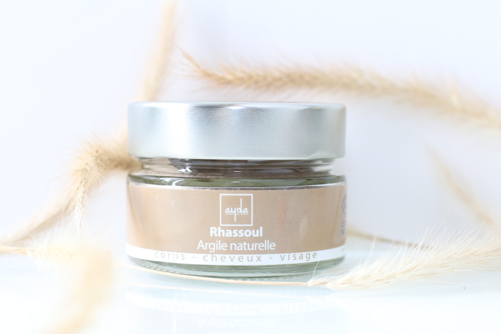 Rhassoul ultra fin naturel, vegan et cruelty-free Ayda