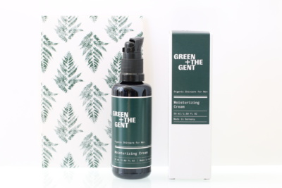 Crème hydratante visage bio, naturelle, vegan et cruelty-free GREEN + THE GENT