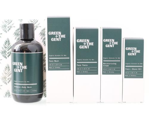 GREEN + THE GENT : les cosmétiques naturels et véganes pour gentlemen modernes