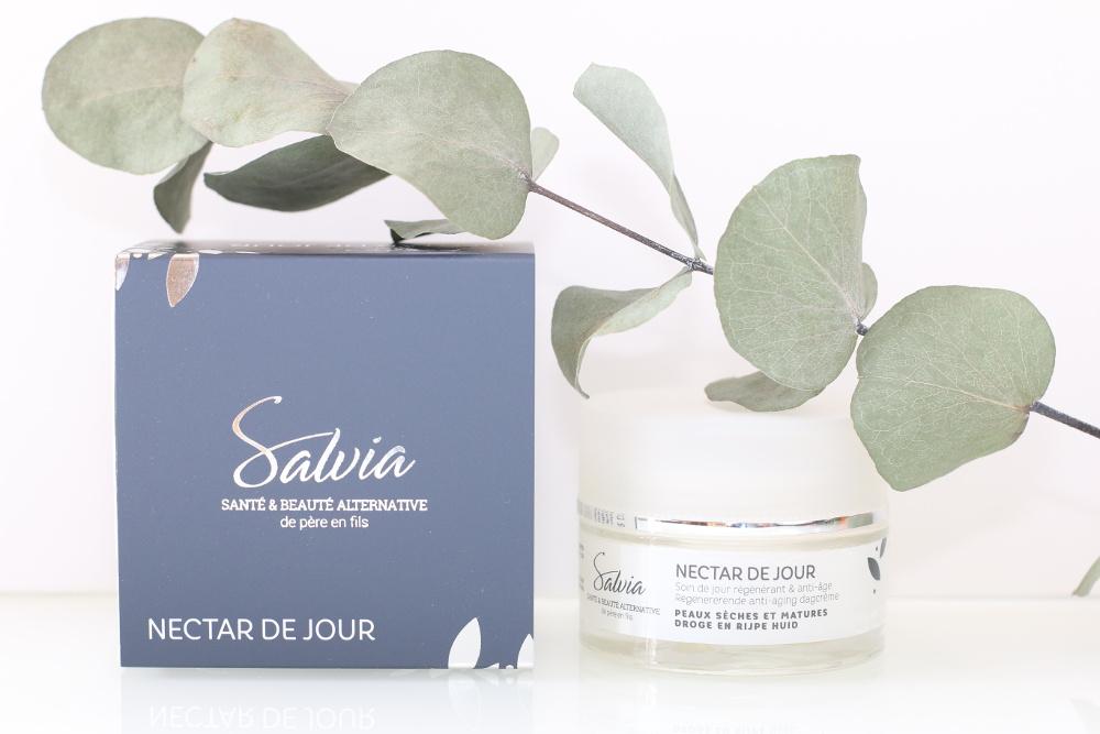 Soin visage bio, vegan, naturel et cruelty-free Nectar de jour de Salvia