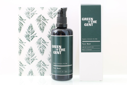 Nettoyant visage bio, naturel, vegan et cruelty-free GREEN + THE GENT