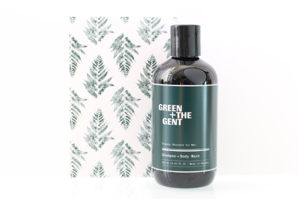 Shampooing et gel douche bio, vegan, naturel et cruelty-free GREEN + THE GENT