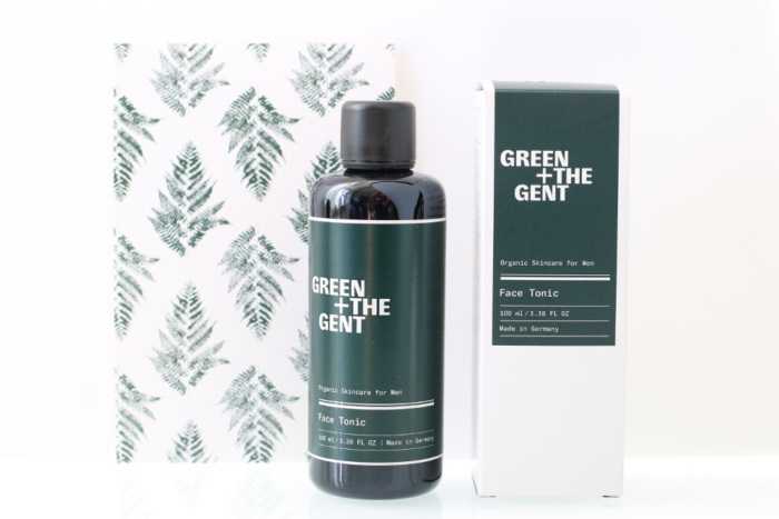 Tonique visage bio, vegan, naturel et cruelty-free GREEN + THE GENT