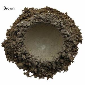 Swatch de l'ombre à paupières Brown de Baims