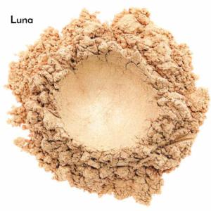 Swatch de l'ombre à paupières minérale bio et vegan Luna de Baims