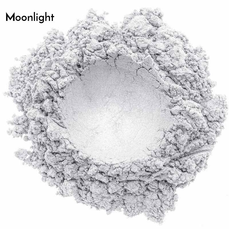 Swatch de l'ombre à paupières minérale bio et vegan Moonlight de Baims