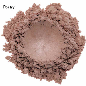 Swatch de l'ombre à paupières Poetry de Baims