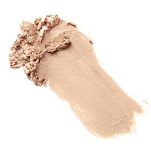 Swatch du fond de teint crème minéral Walnut de Baims