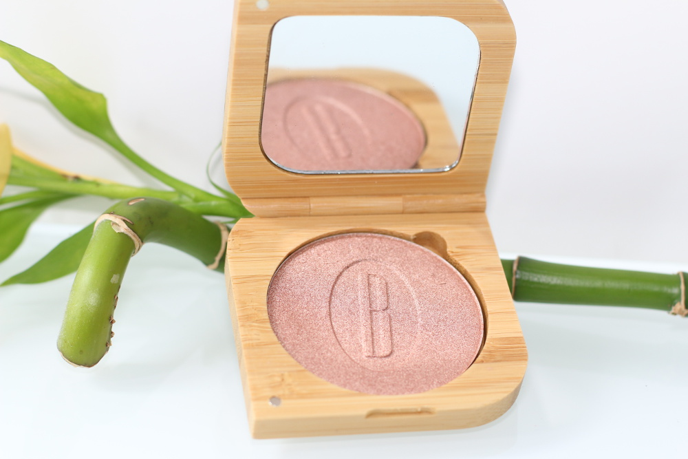 Highlighter bio, vegan, naturel et non testé sur les animaux Warm and Glow Baims