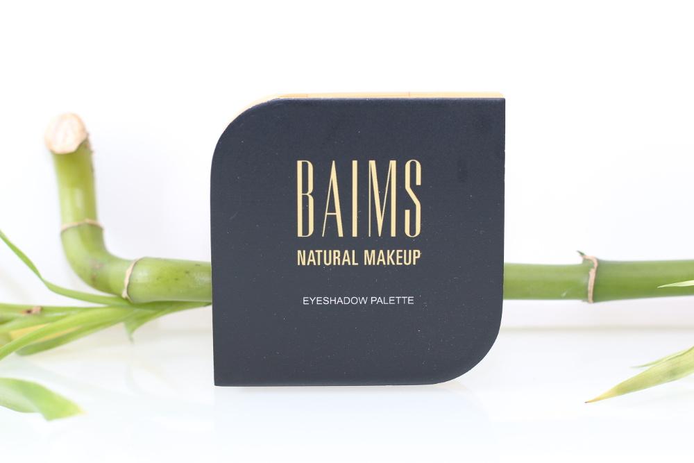 Palette de 4 ombres à paupières bio, vegan, naturelle et cruelty-free Baims