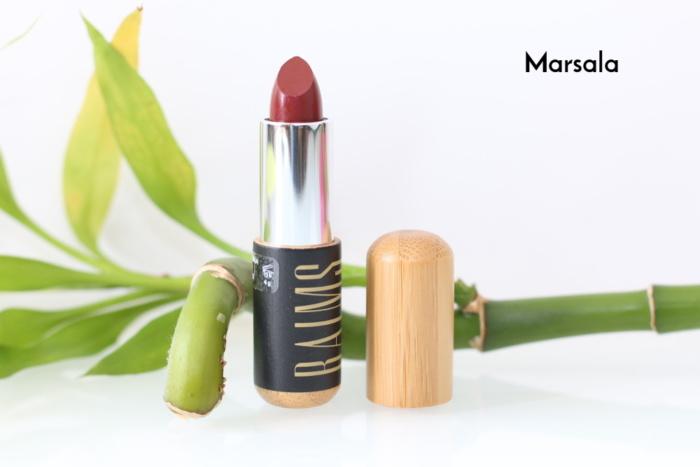 Rouge à lèvres bio, vegan, naturel et cruelty-free Marsala de Baims