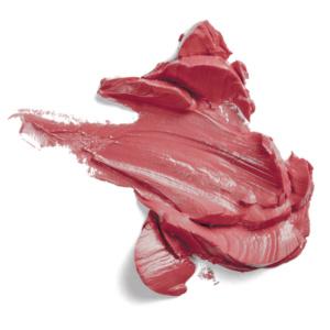 Swatch du rouge à lèvres Granat de Baims