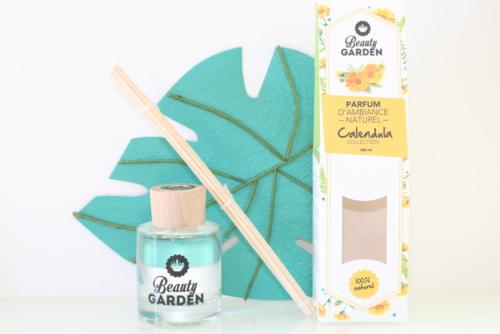 Parfum d'intérieur naturel au calendula Beauty Garden