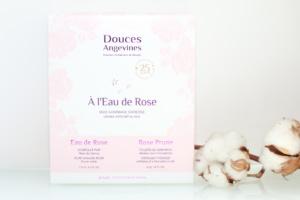 Coffret Eau de Rose Douces Angevines