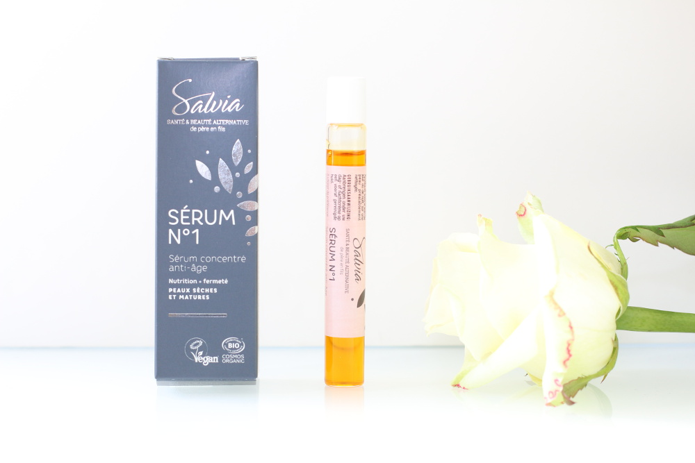 Sérum concentré anti-âge, bio, naturel, vegan et cruelty-free Salvia