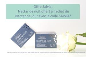 Promo Salvia : soin de nuit bio, naturel et vegan gratuit