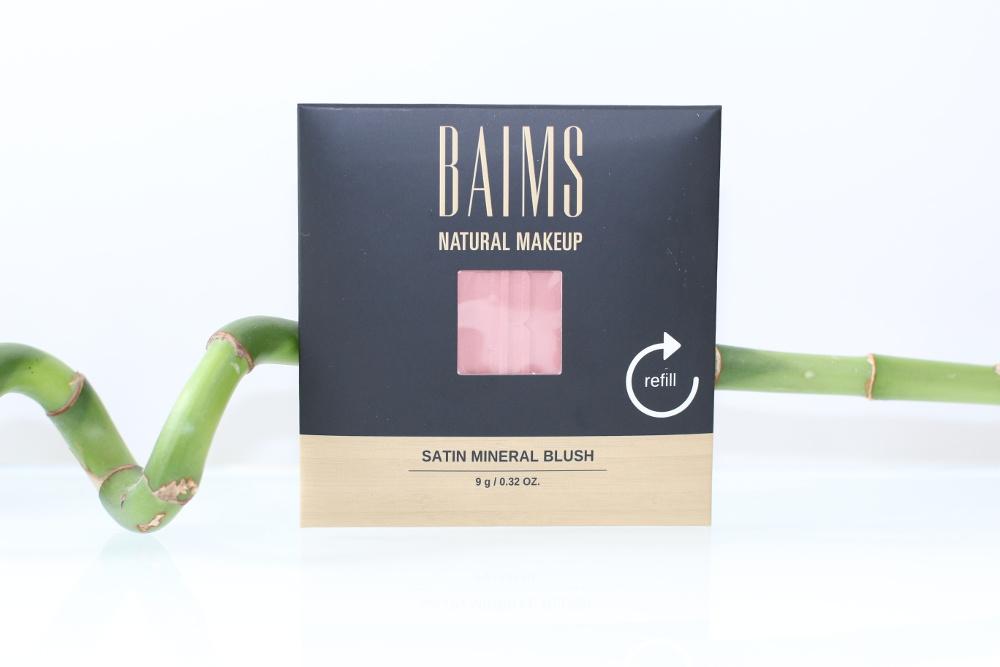 Recharge du blush minéral bio et vegan Satin de Baims
