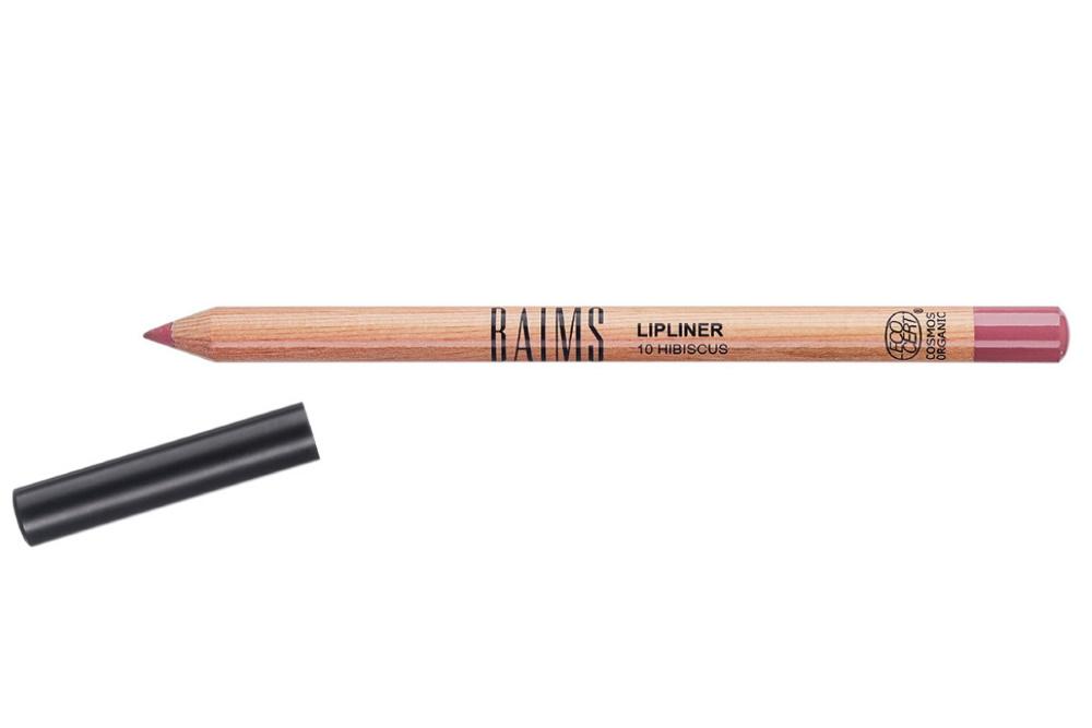 Crayon contour des lèvres bio, vegan, naturel et cruelty-free Hibiscus de Baims