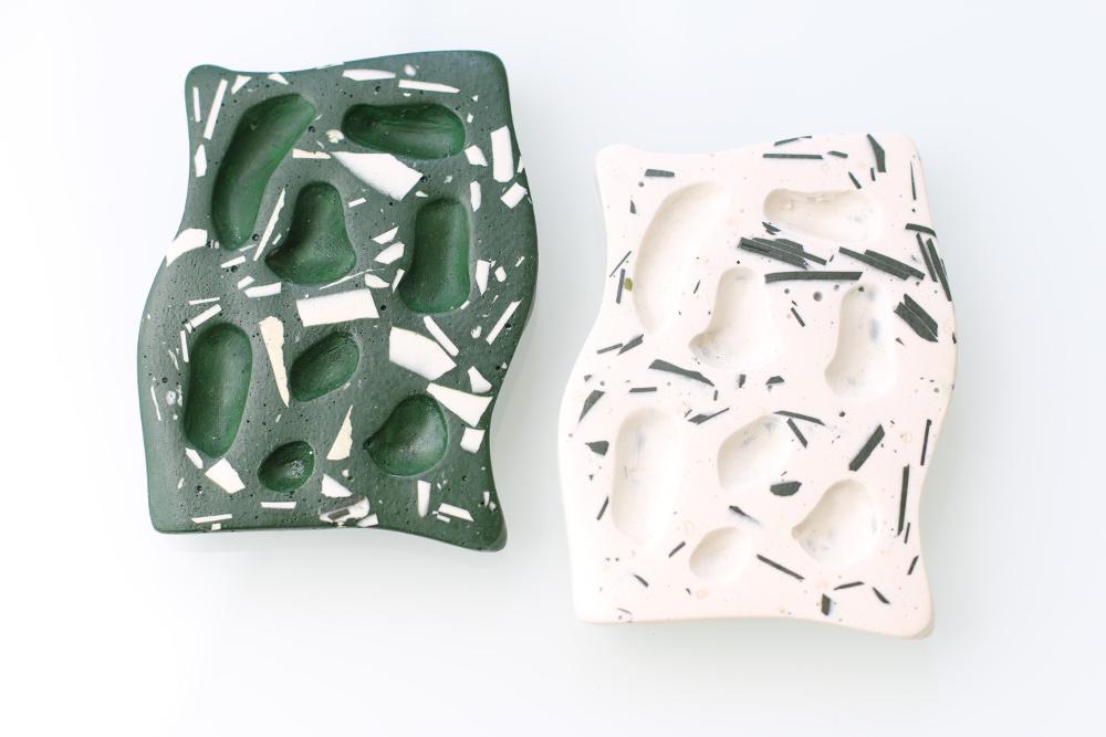 Porte-savon fabriqué en Belgique (Liège) par Sophie Rahir