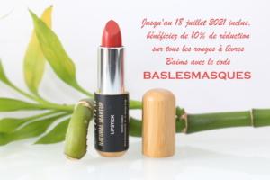 Réduction sur les produits pour les lèvres bio, vegan et naturel Baims