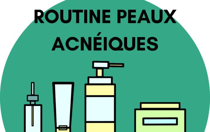 Routine soins visage naturel, vegan et bio pour peaux acnéiques et à problèmes